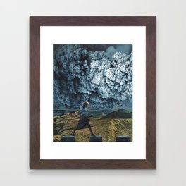 Stride Framed Art Print