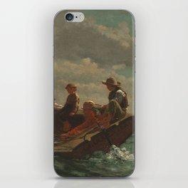 Winslow Homer Breezing Up (A Fair Wind) 1873-1876 iPhone Skin