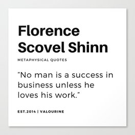 36   | Florence Scovel Shinn Quotes | 200126 Canvas Print