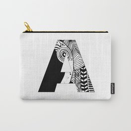 The letter A Carry-All Pouch