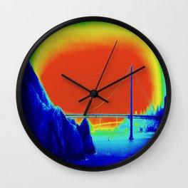 bridging realities Wall Clock