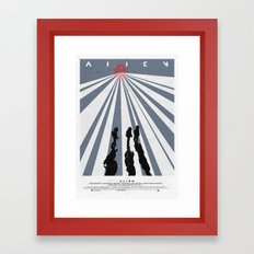 Alien (1979) Movie Poster Framed Art Print