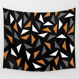 Animated triangles Wall Tapestry
