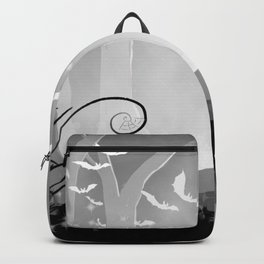 Dark Forest at Dawn Backpack