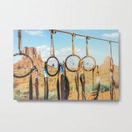 Jew's harp. Monument Valley Metal Print
