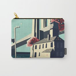 A pretty day at the brooklyn bridge Carry-All Pouch