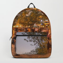 Istanbul At Night Backpack