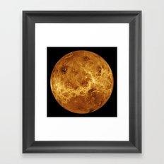Venus close up Framed Art Print