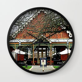 Pipers Restaurant Wall Clock