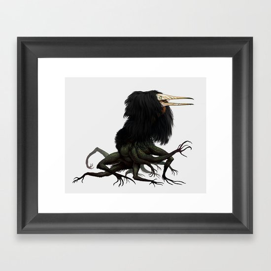 Twitchy Vukka Framed Art Print