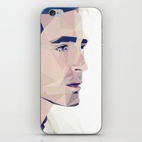 lee pace iPhone & iPod Skins featuring Lee Pace - Low Poly by khitkhat