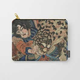 Utagawa Kuniyoshi - Tiger. Carry-All Pouch