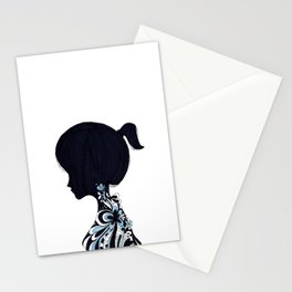 living lady Stationery Cards