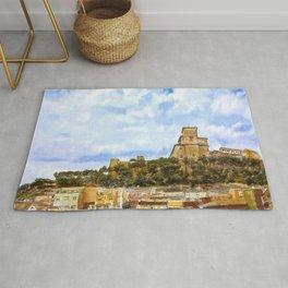 Caravaca Medieval Castel - Murcia, Spain Rug