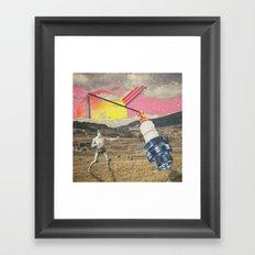 //figh.t// Framed Art Print