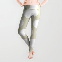 cancun dots pattern Leggings