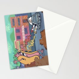 Hot Dog Attack! Stationery Cards