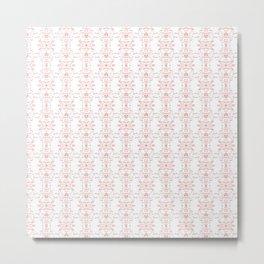 Valentine 4 pattern Metal Print