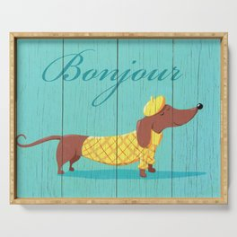 Bonjour Chiot Serving Tray