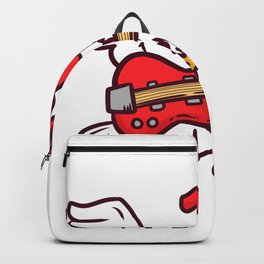 Guitar Rooster Backpack