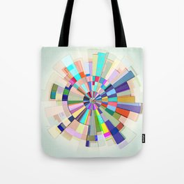 Abstract Color Wheel Tote Bag