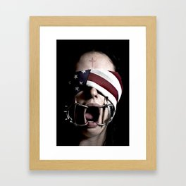 The American Dream Framed Art Print