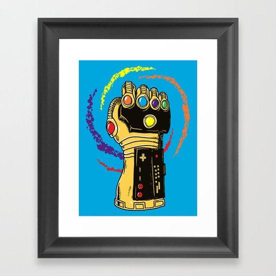 Infinity Power Framed Art Print
