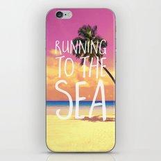 Running to the Sea iPhone & iPod Skin