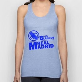 Slogan Real Madrid Unisex Tank Top