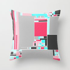 Red Mint Throw Pillow