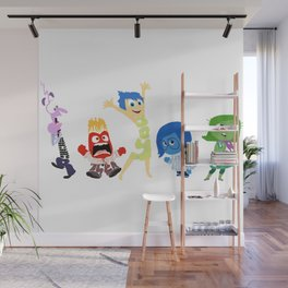 inside out Wall Mural