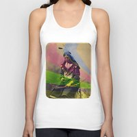 native american Tank Tops featuring Native American by Owen Addicott