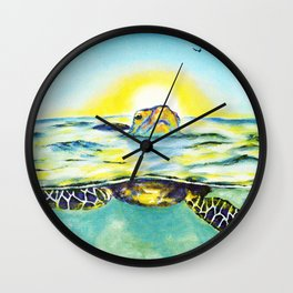 Keep Your Head Above Water. You Got This Wall Clock