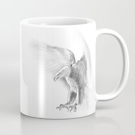 Eagle - pencil drawing Coffee Mug