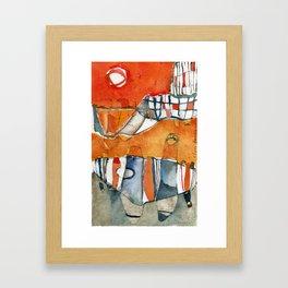 Ciudad Framed Art Print