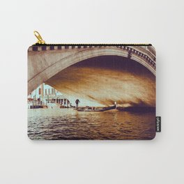 Rialto Bridge, Venice Italy Carry-All Pouch