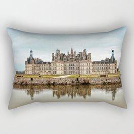 Chateau de Chambord Rectangular Pillow