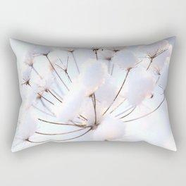 Snow covered dryflower Rectangular Pillow
