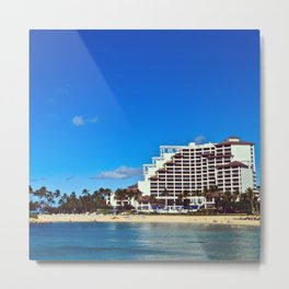 Oahu, HI - JW Marriott Ihilani Ko Olina Metal Print
