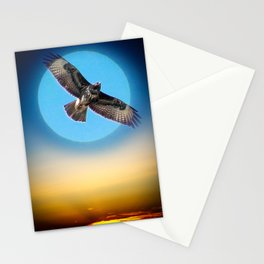 Moments - Full Moon - Sunset Stationery Cards