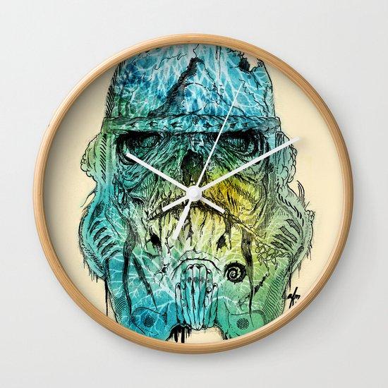 Storm Zombie Wall Clock