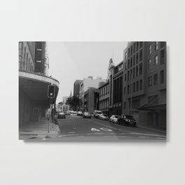 In the City Metal Print