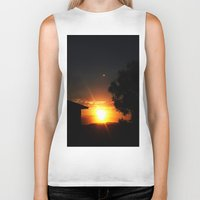 ufo Biker Tanks featuring UFO by Shemaine