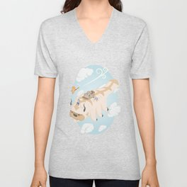 Avatar: The Last Airbender Isometric Artwork Unisex V-Neck