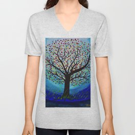 Colors of life Unisex V-Neck
