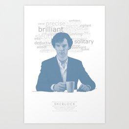 Sherlock Poster Art Print