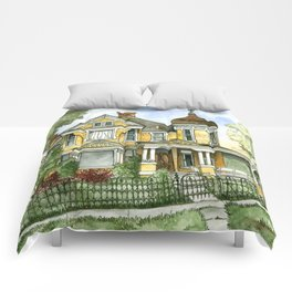 Victorian in The Avenues Comforters