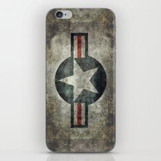 Stylized US Air force Roundel iPhone & iPod Skin