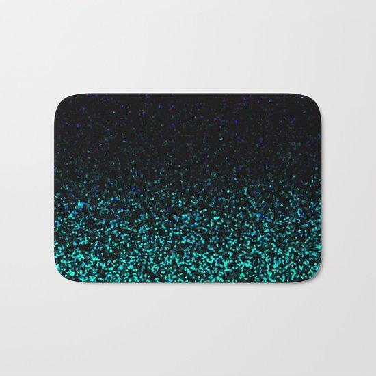 Mint Sparkle Bath Mat