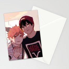 Kagehina idol AU  Stationery Cards